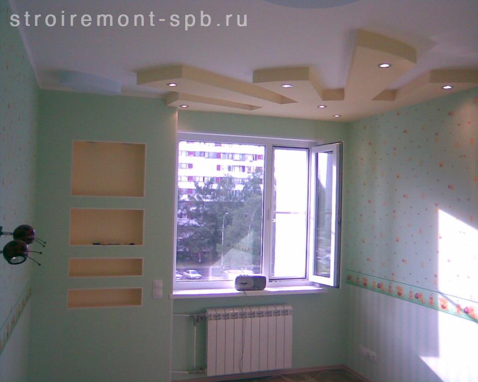 Отделка потолка в новой квартире 5