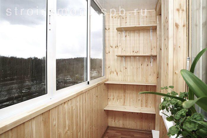 Ремонт балкона под ключ, отделка лоджии.
